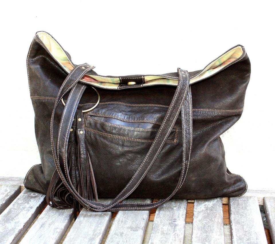 Beautifull soft nubuck city bag