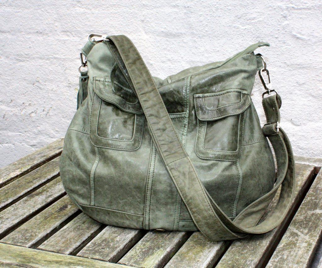 Endnu en grøn taske